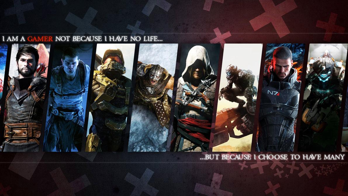 Gamer Wallpaper by MatticusIV 1191x670