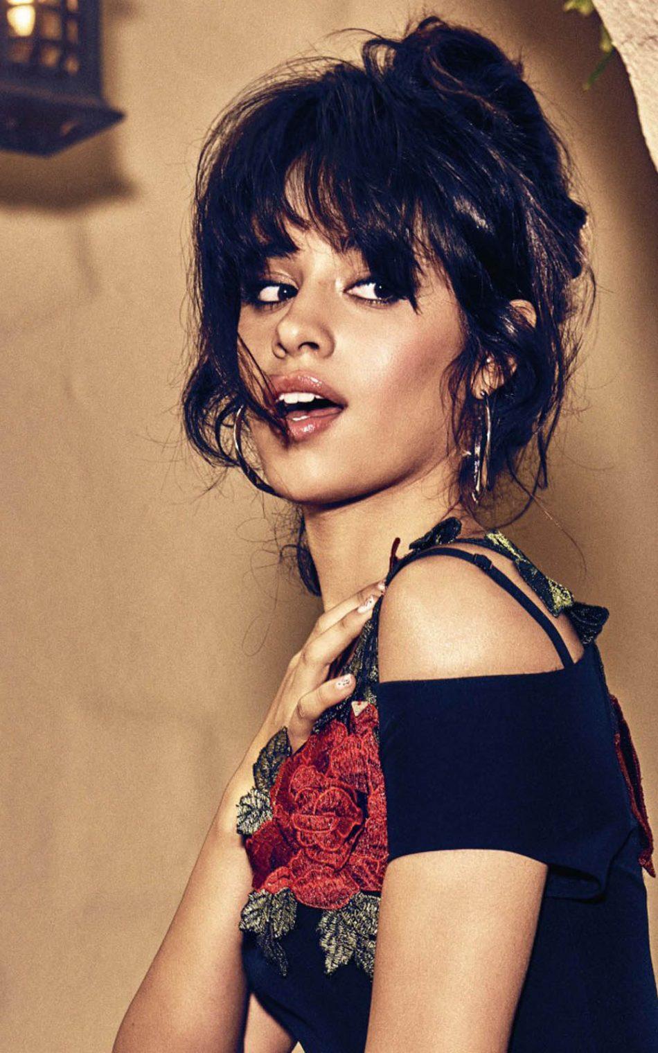 Download Camila Cabello Pure 4K Ultra HD Mobile Wallpaper 950x1520