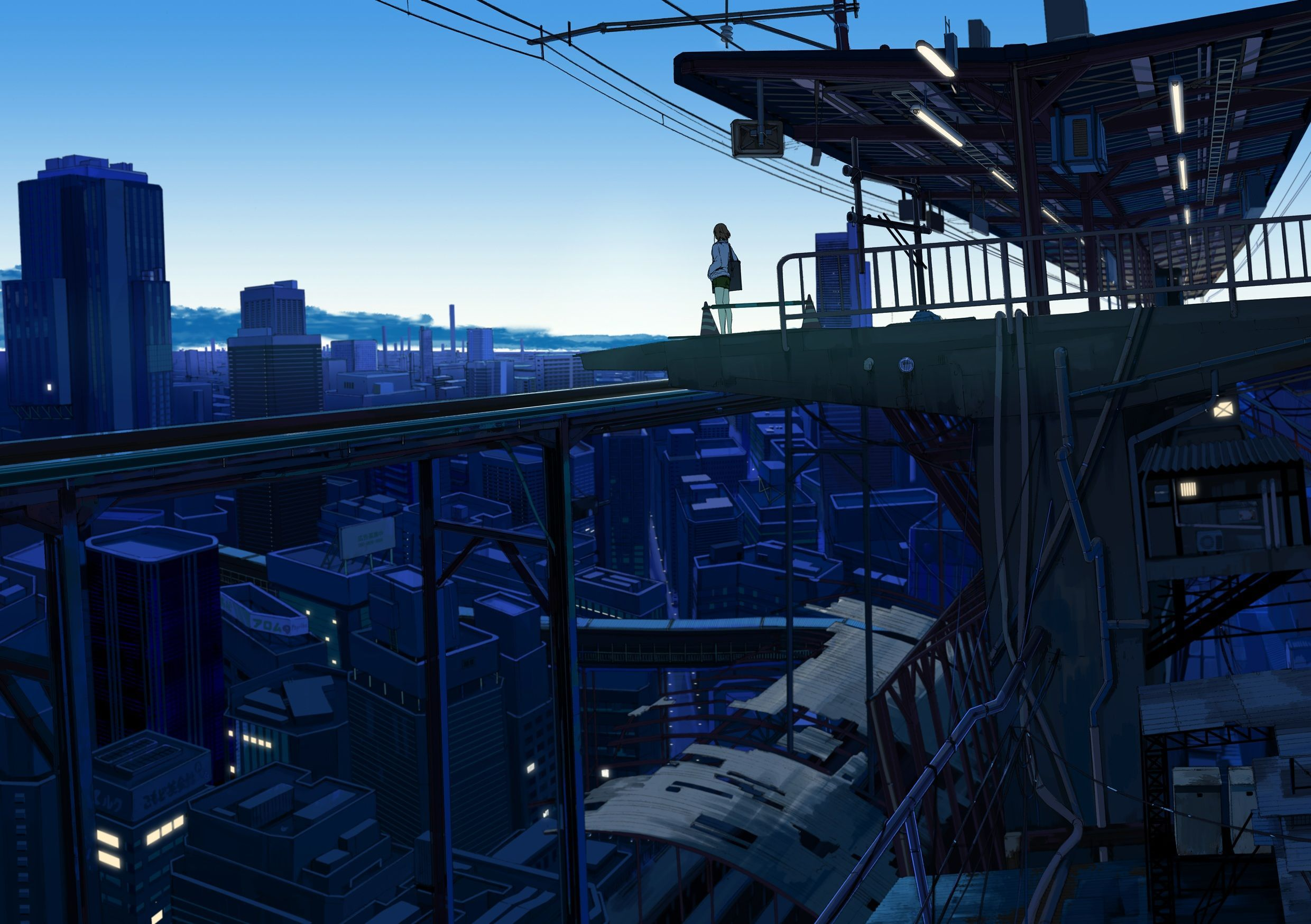 Japanese Anime City Wallpapers   Top Japanese Anime City 2480x1748