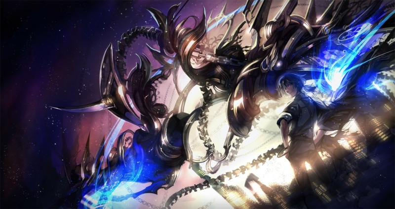 Anime mecha wallpaper wallpapersafari - Anime boy dragon ...
