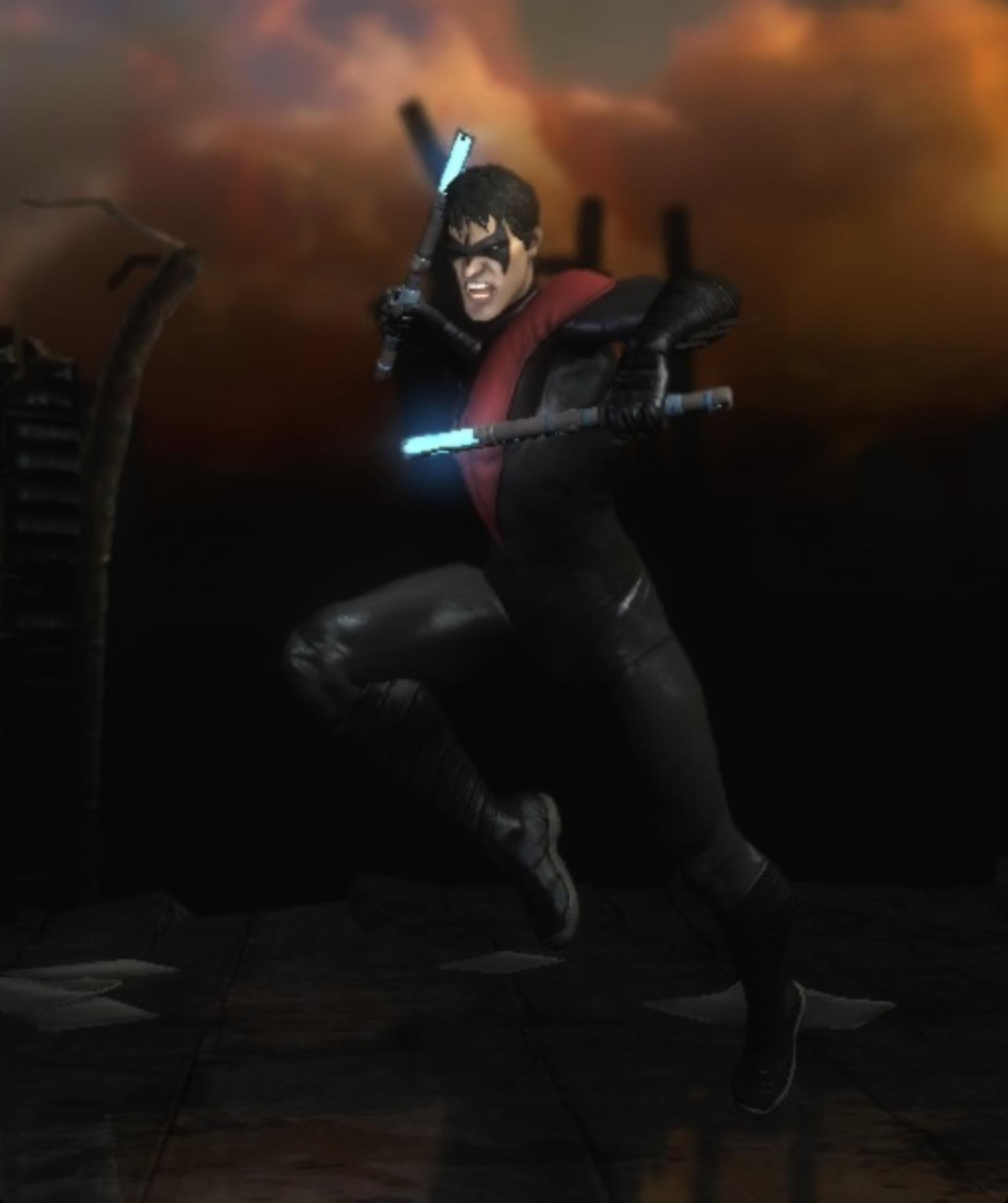 Image   Nightwing New 52jpg   InjusticeGods Among Us Wiki 1536x1833
