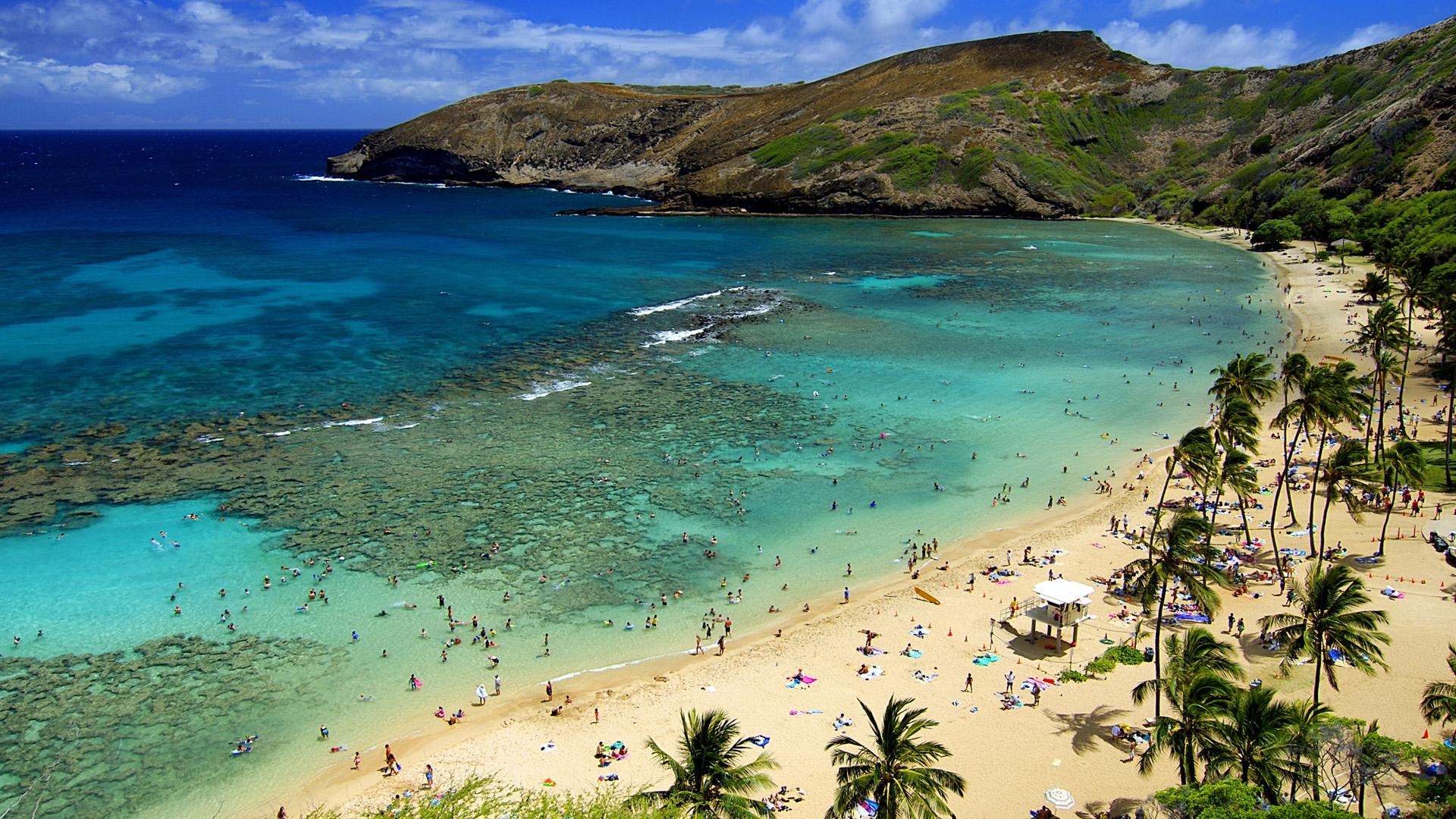 Afternoon Hawaii Beach Wallpaper Wide #13126 Wallpaper   Wallpaper ...