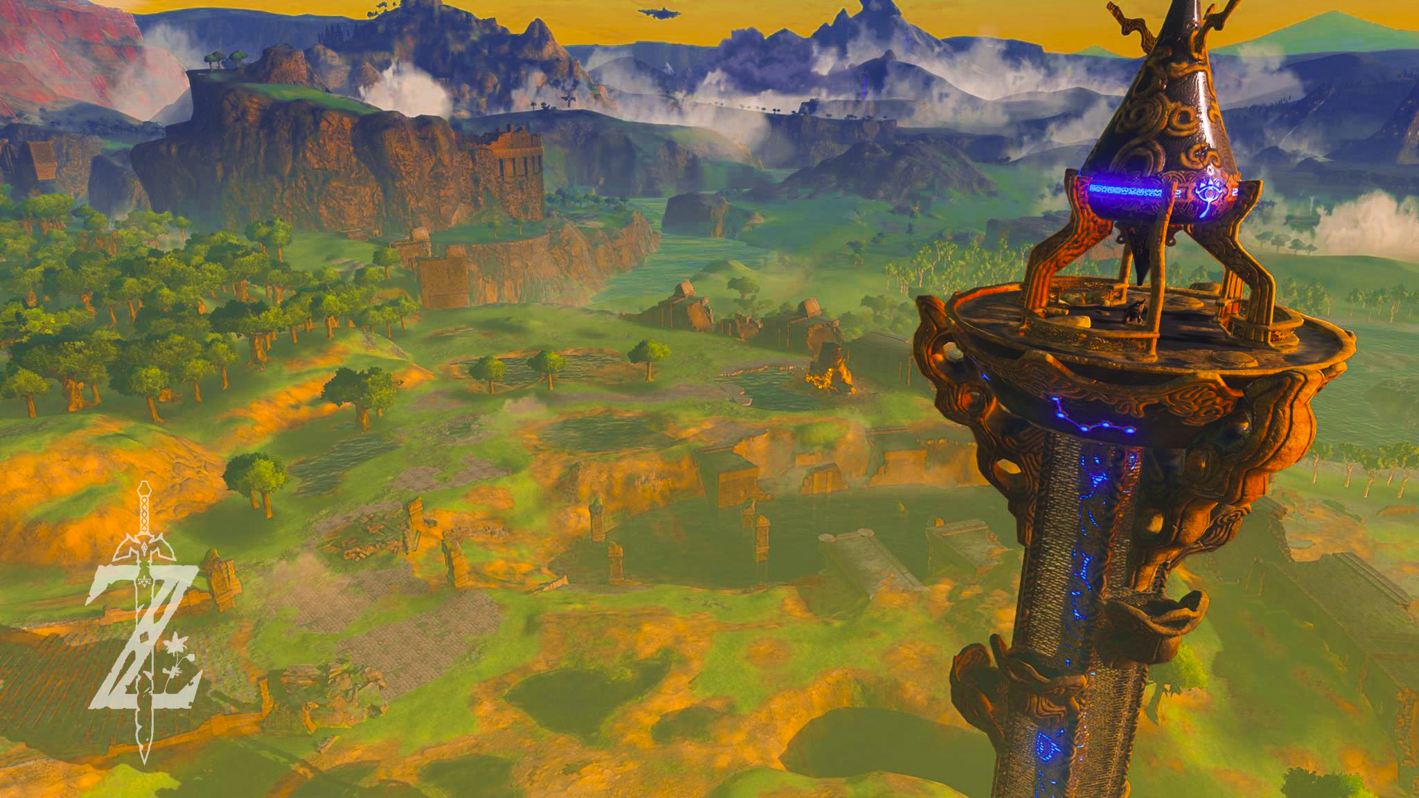 Legend Of Zelda Breath Of The Wild Wallpaper 1920x1080