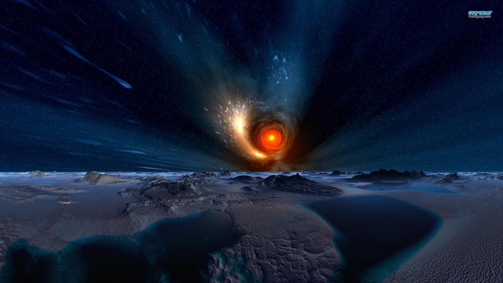 Black hole wallpaper moving wallpapersafari - Black space wallpaper ...