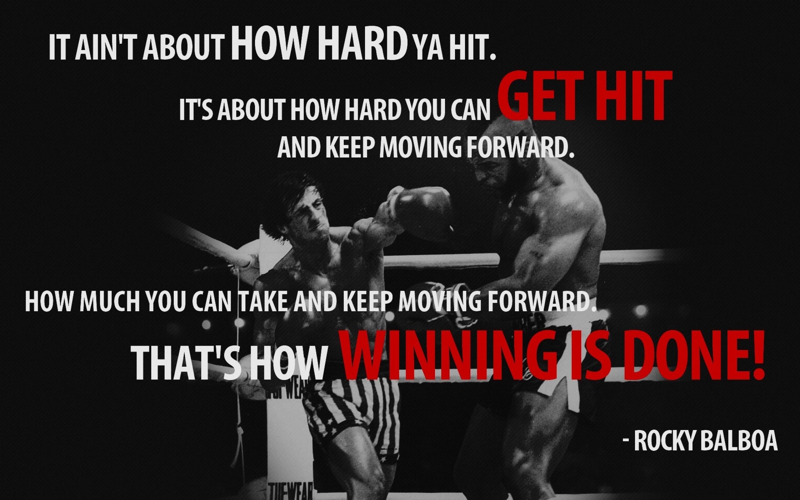 rocky balboa rocky the movie motivation 1920x1200 wallpaper Art HD 2560x1600