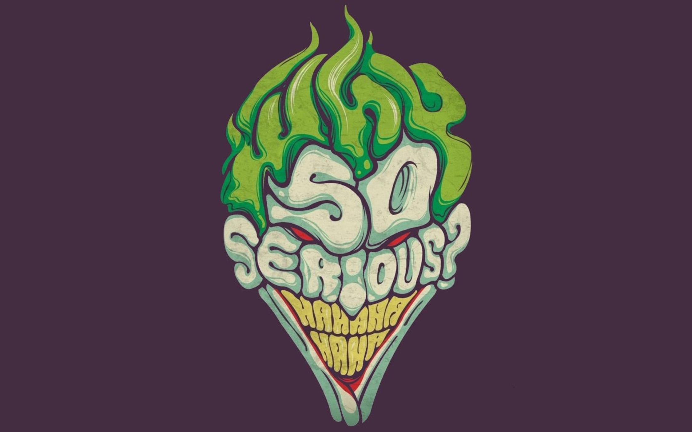 [70+] Joker Why So Serious Wallpaper on WallpaperSafari