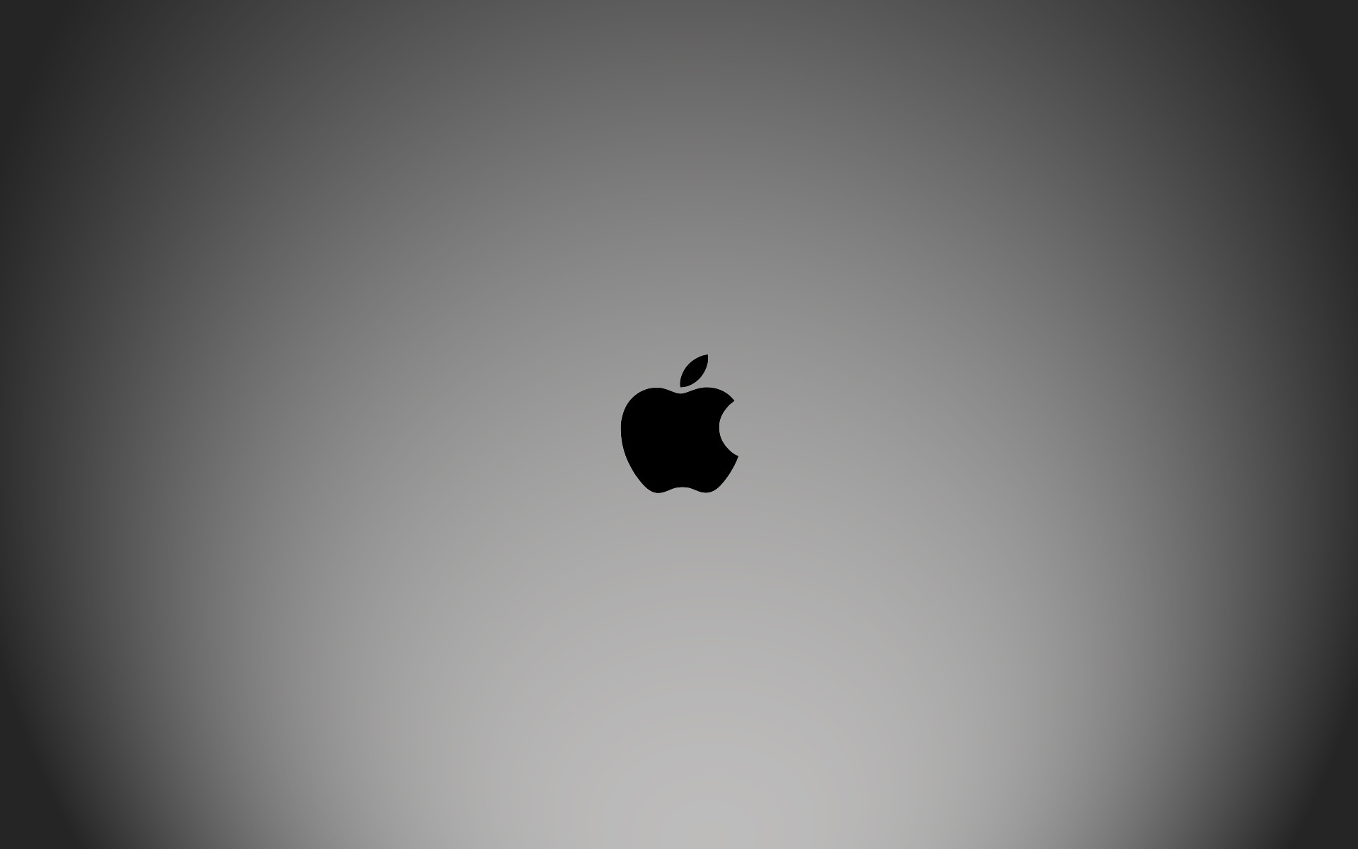 Apple Black and White Wide Wallpapers 3547   Amazing 1920x1200