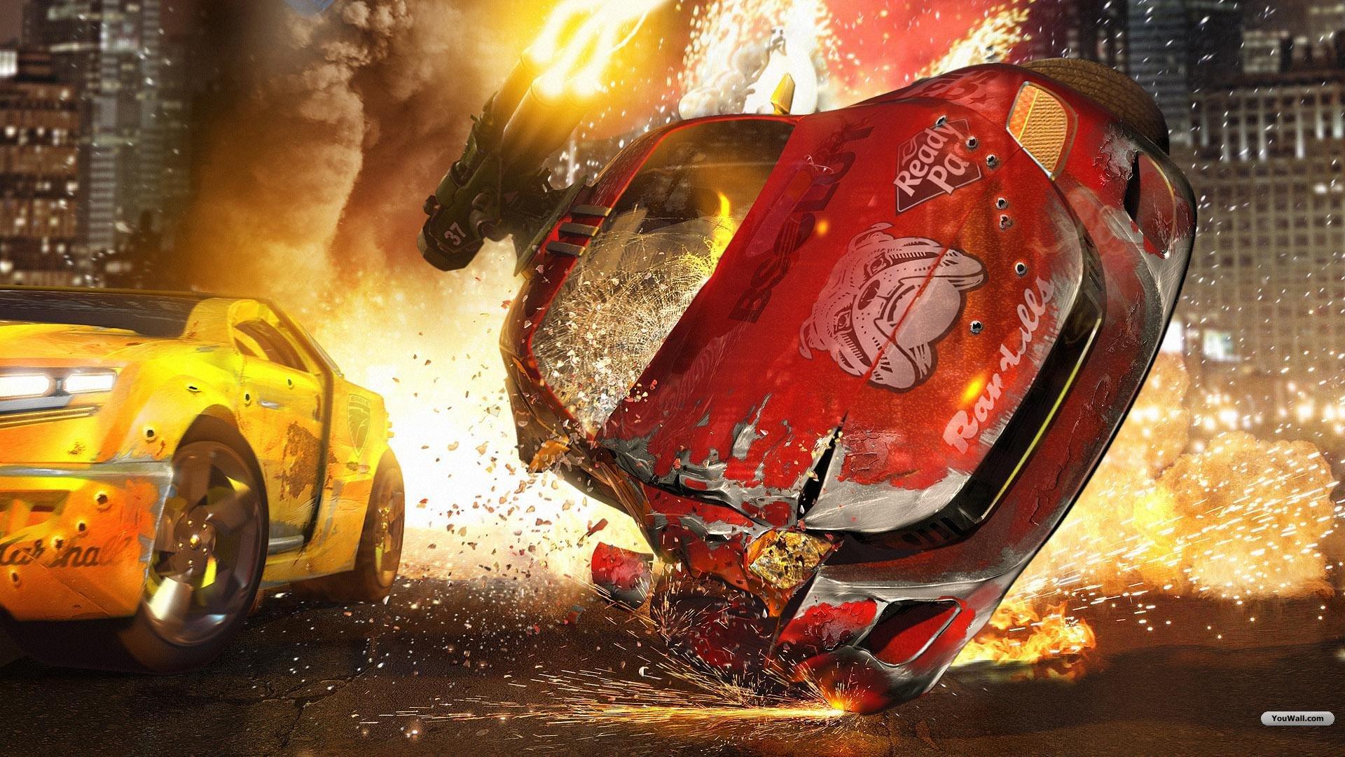 Car Crash Wallpaper Wallpapersafari