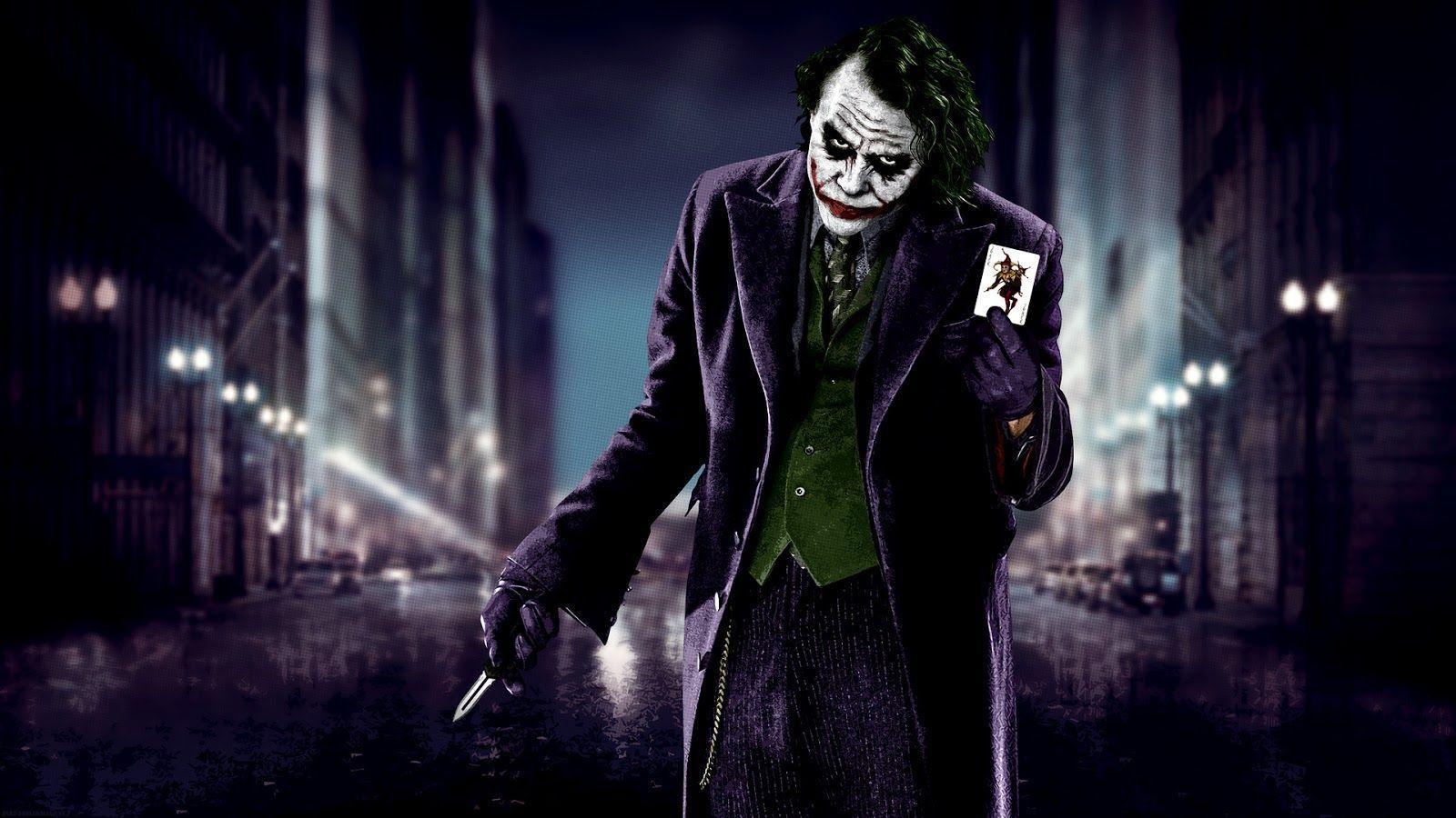 Heath Ledger Joker Wallpapers 1600x900