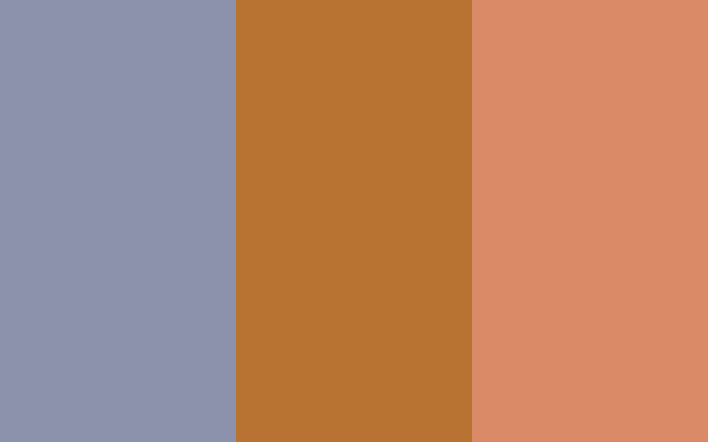Cool Grey Copper and Copper Crayola solid three color background 1440x900