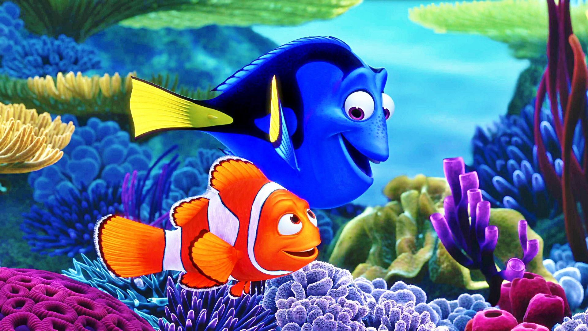 DisneyPixar Wallpapers   Finding Nemo   Walt Disney Characters 1920x1080