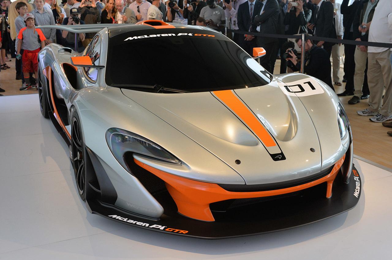 2015 McLaren P1 GTR Wallpaper 1280x850