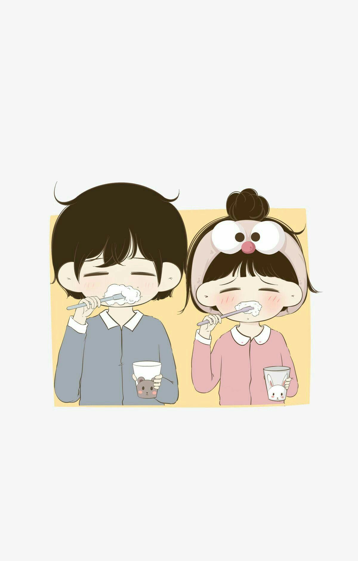 LOVE in 2020 Cute love cartoons Cute love images Anime 1200x1878