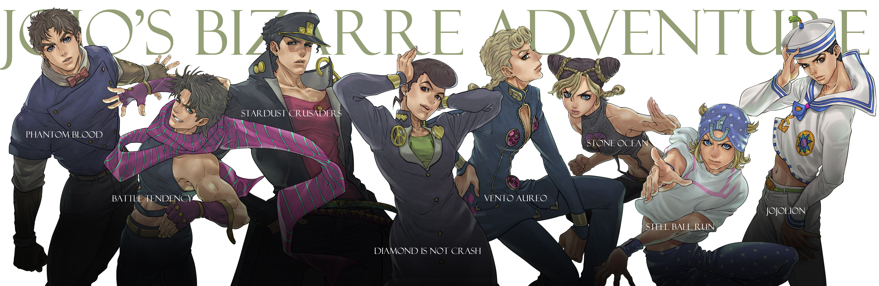 Free Download Vento Aureo Golden Wind Jojo No Kimyou Na Bouken