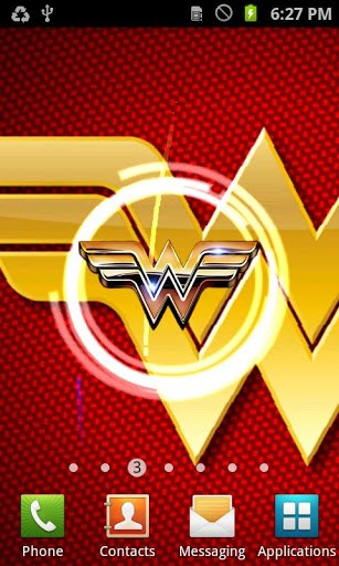 View bigger   Wonder Woman Live Wallpaper for Android screenshot 307x512