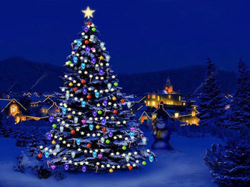 Hd Christmas Desktop Wallpaper