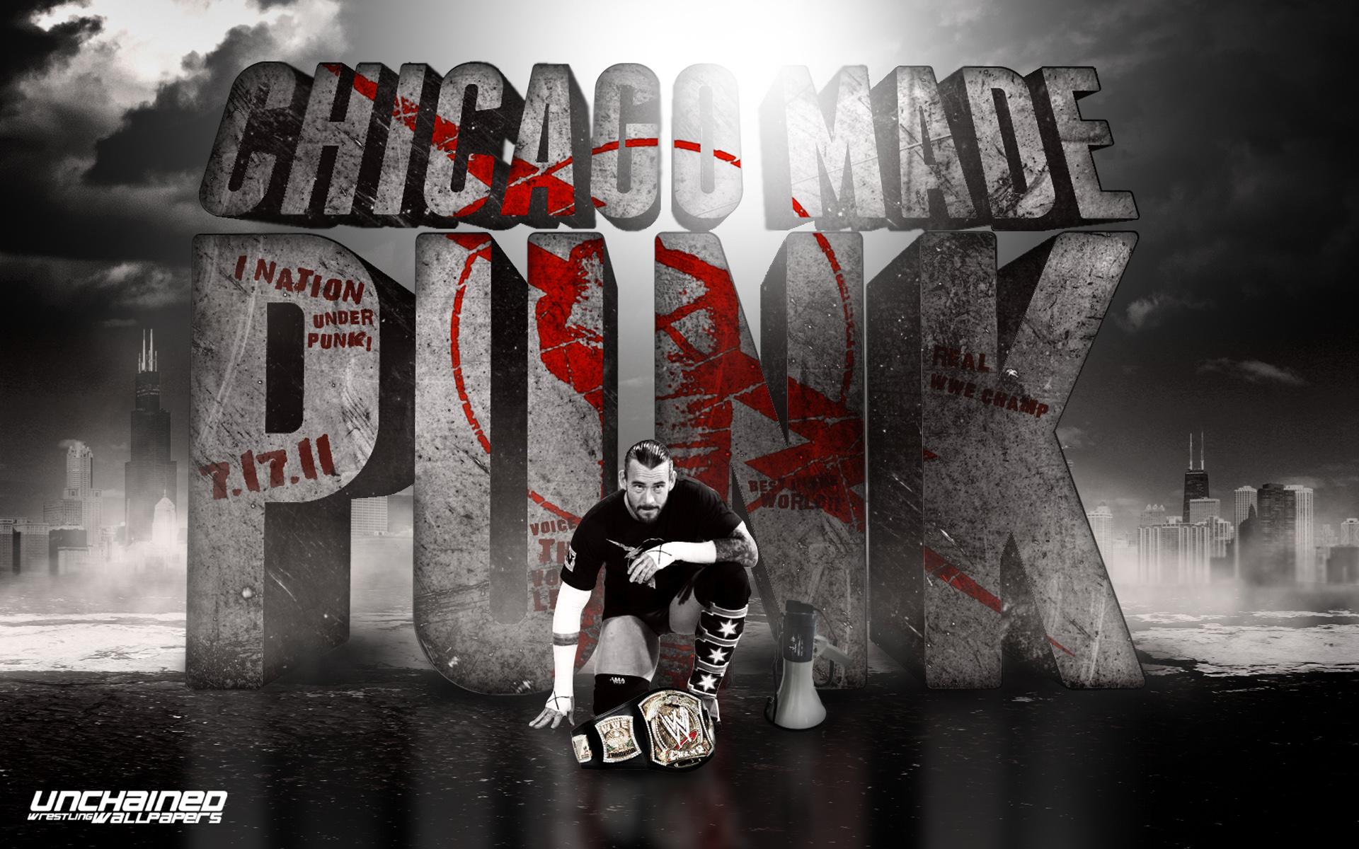 CM Punk   WWE Wallpaper 30711461 1920x1200