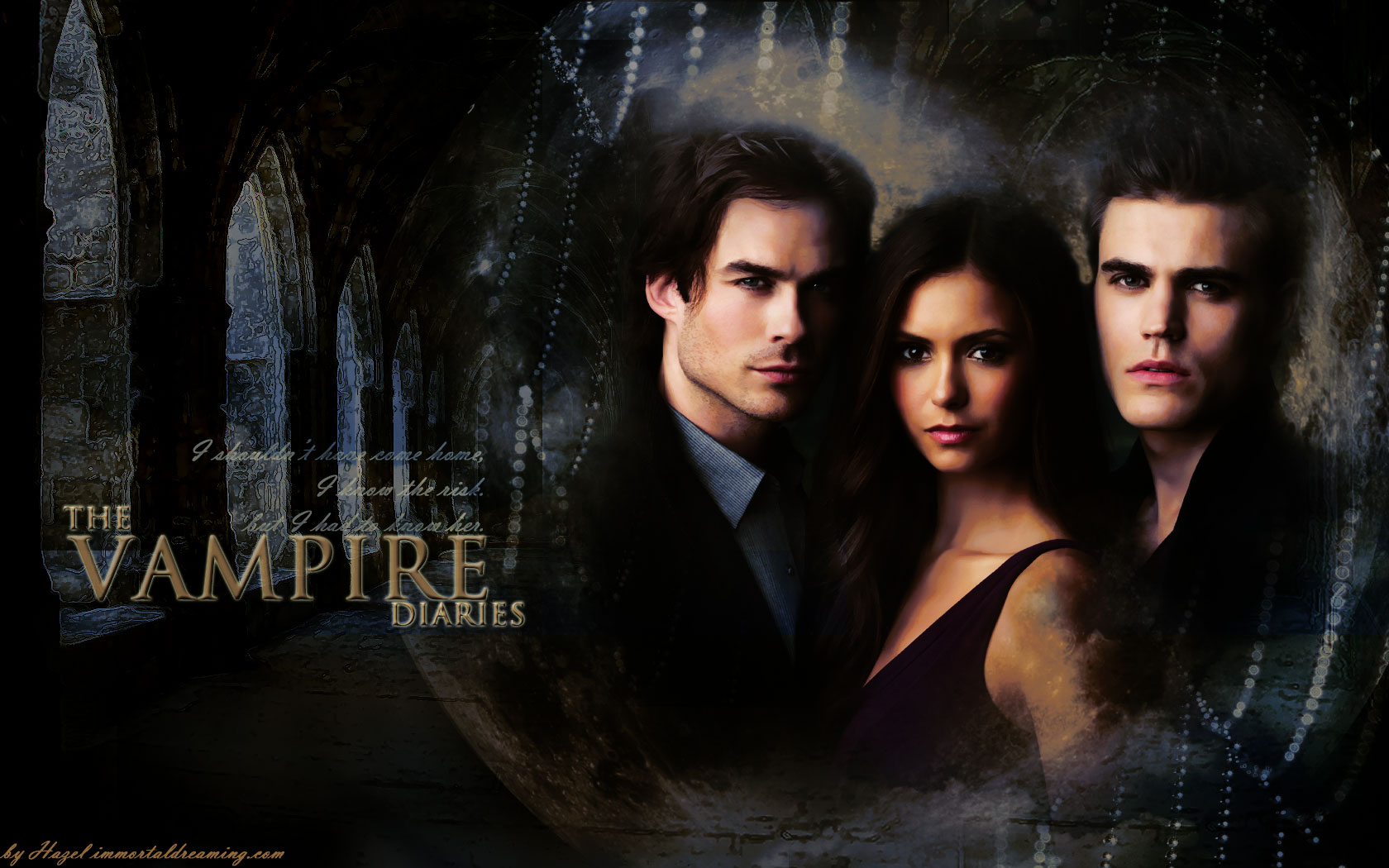 Free Download Dobrev Paul Wesley And Ian Somerhalder The Vampire