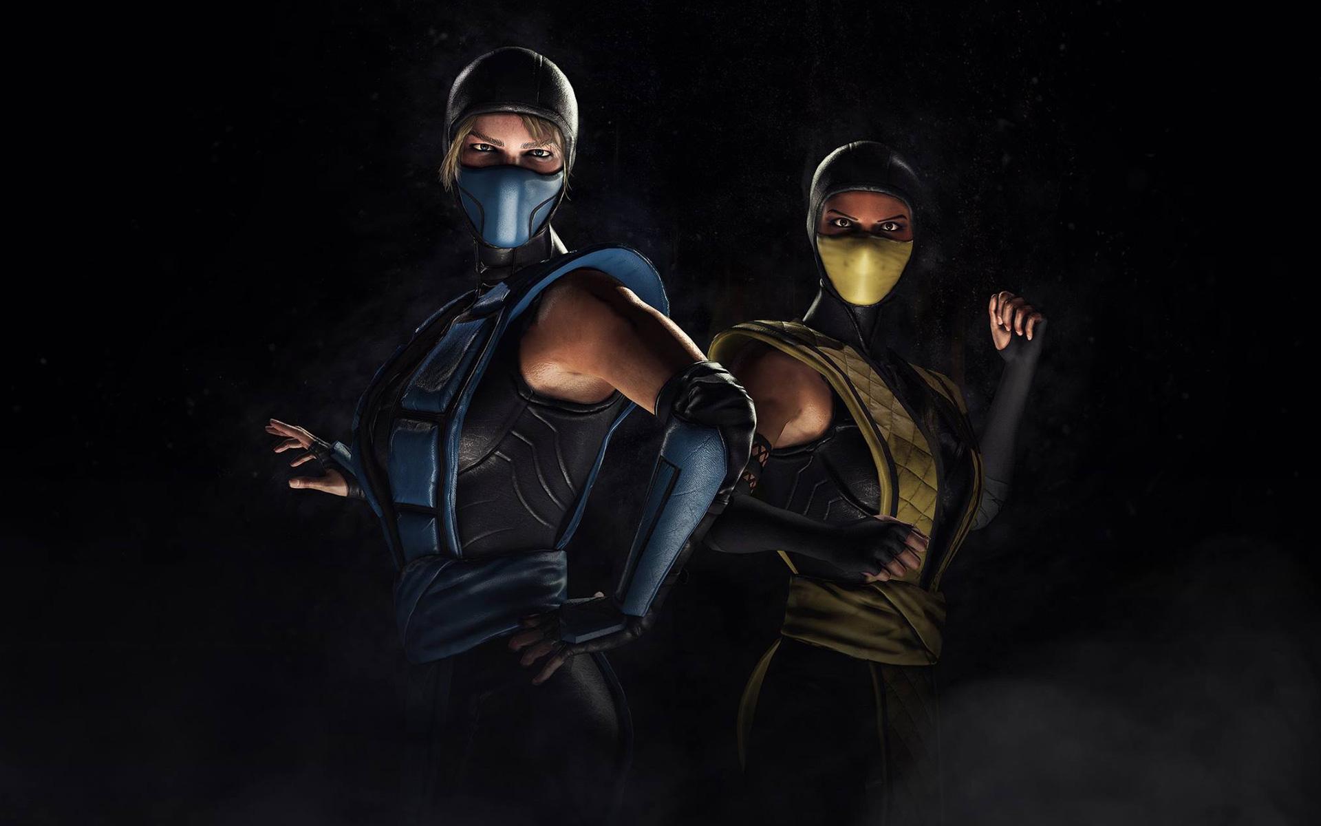 Mortal Kombat XL Sub Zero Scorpion Kosplay Wallpapers HD Wallpapers 1920x1200