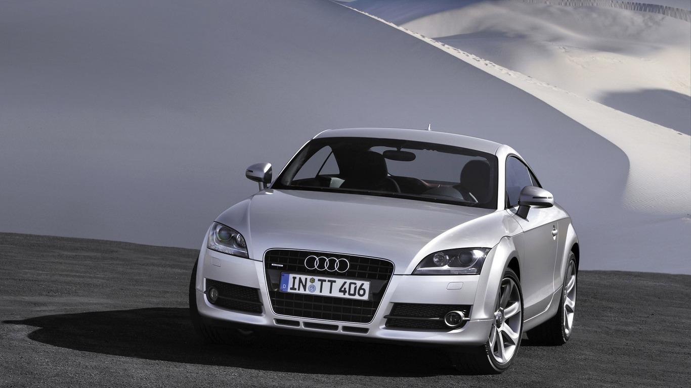 Audi TT RS Coupe wallpaper 10276 1366x768