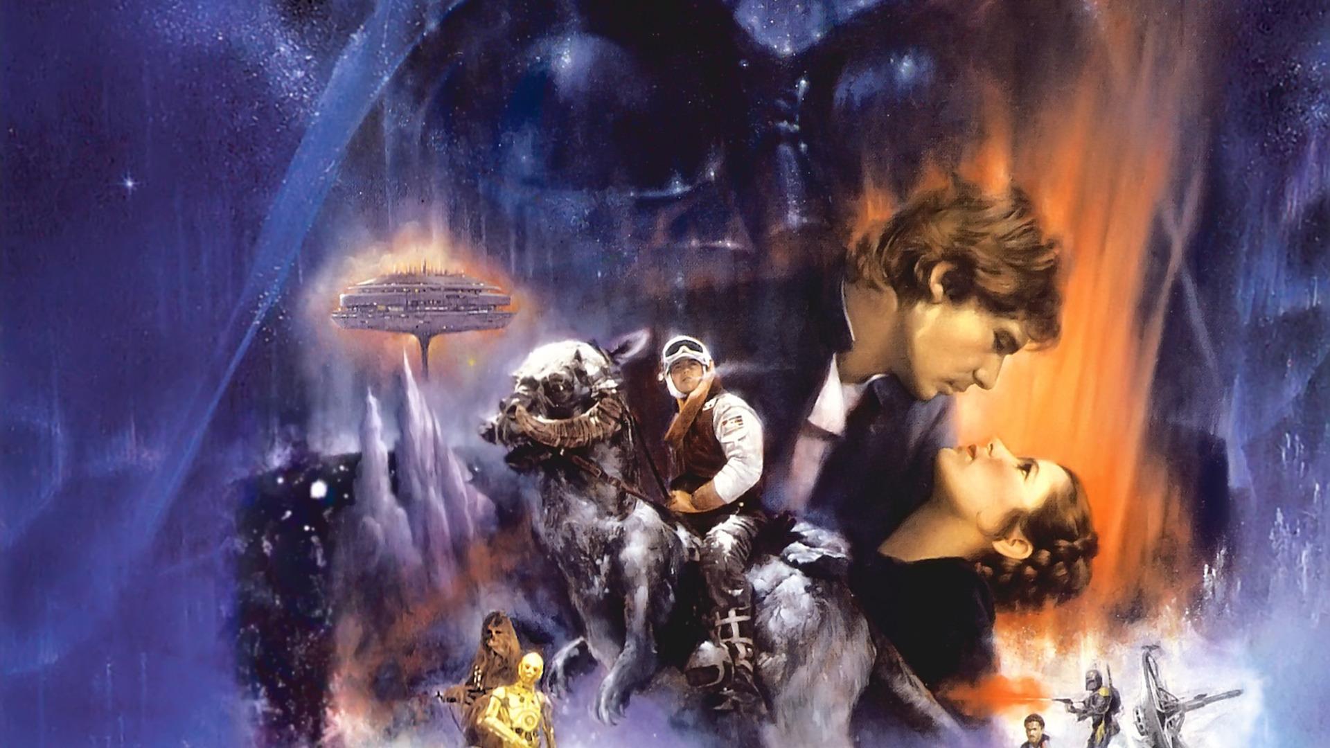 Star Wars Wallpaper 1920x1080 Star Wars Movies Poster Luke 1920x1080