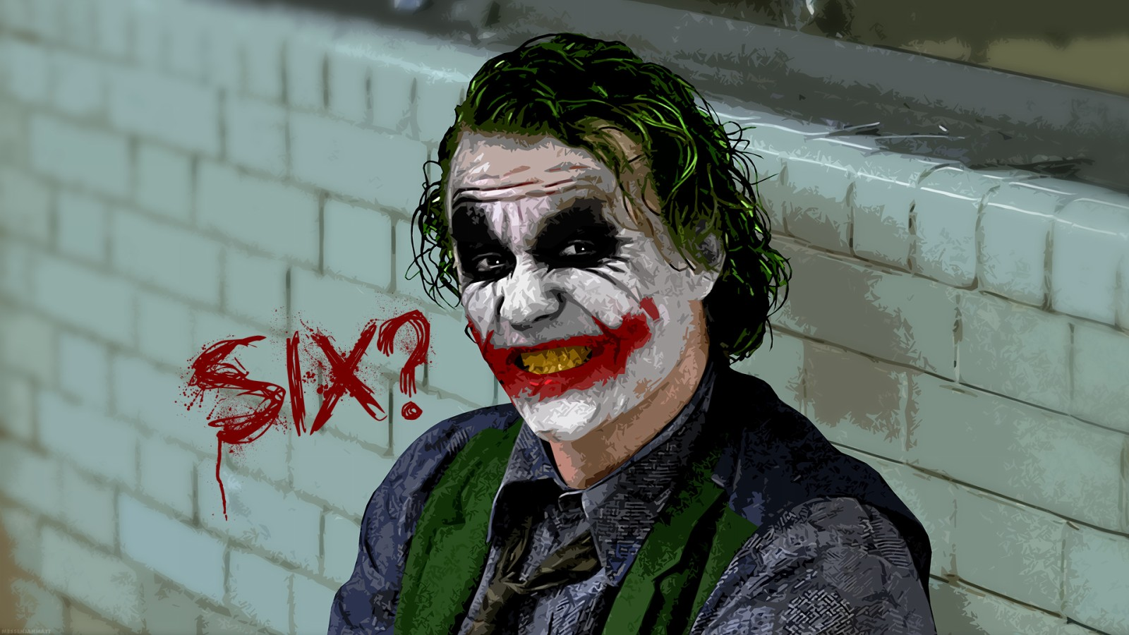 Joker Batman Dark Knight HD Wallpaper of Movie   hdwallpaper2013com 1600x900