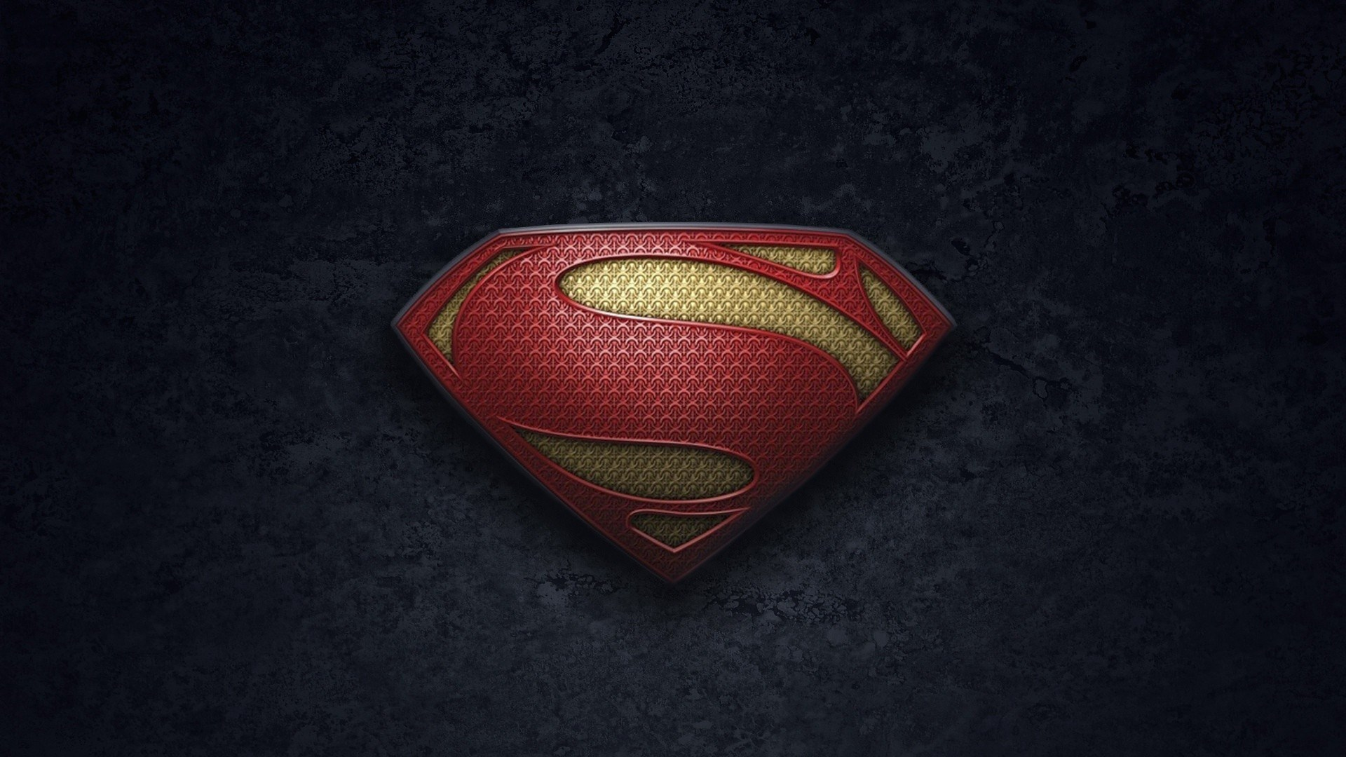 Superman Logo Man Of Steel 1920x1080
