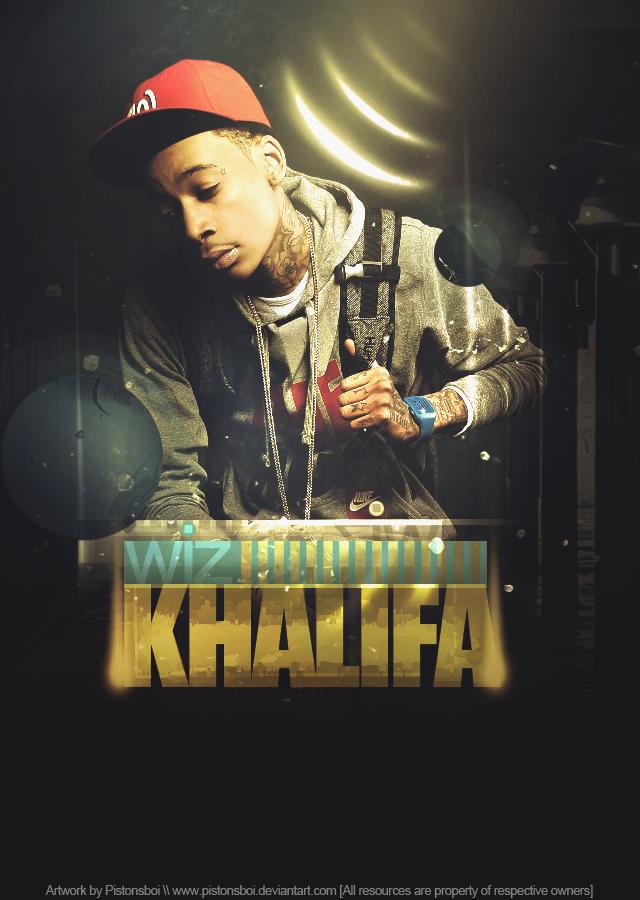 Wiz Khalifa Dope HD Rap Wallpapers 640x900
