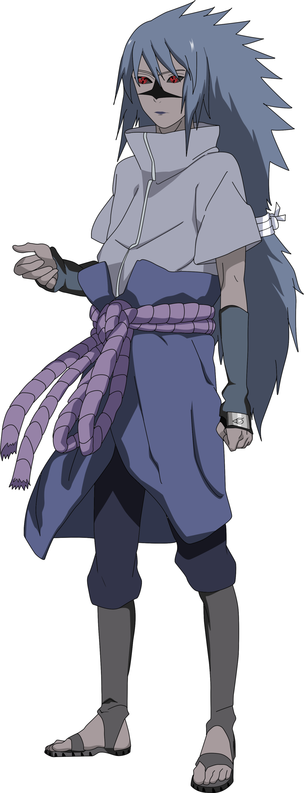 Sasuke Shippuden Curse Seal 2 Render by lwisf3rxd on 1024x2668