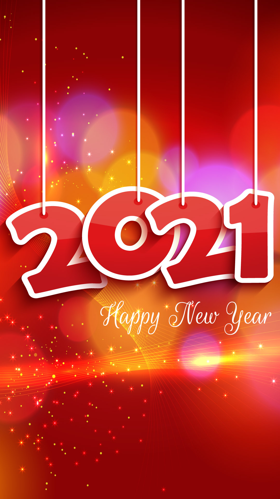 Latest New Year 2021 Wallpapers and Images for iPhone X and iPad 1080x1920