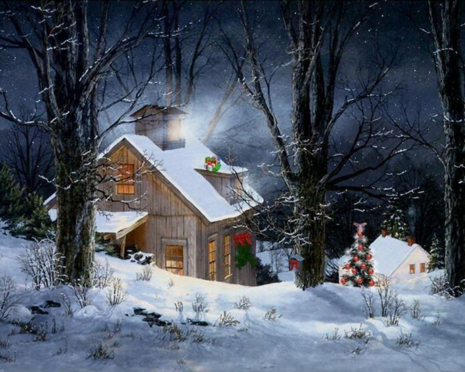 Foto de Paisajes de Navidad Imagen de Paisajes de Navidad Gigante 1600x1280