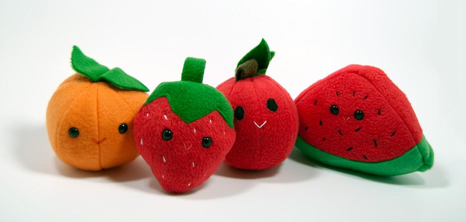 Cute Fruit Wallpaper Cute fruit plush by seamslegit 940x448