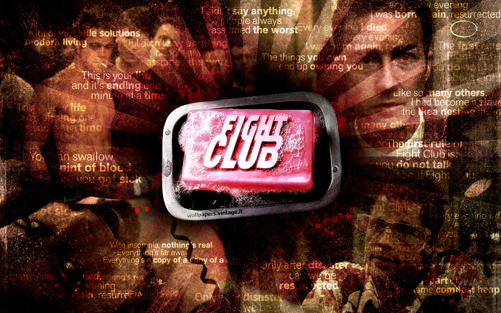 Fight Club wallpaper   Desktop HD iPad iPhone wallpapers 1680x1050