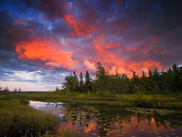 rocky nova scotia lakeview 1600x1200 wallpaper Sunsets Wallpapers 600x450