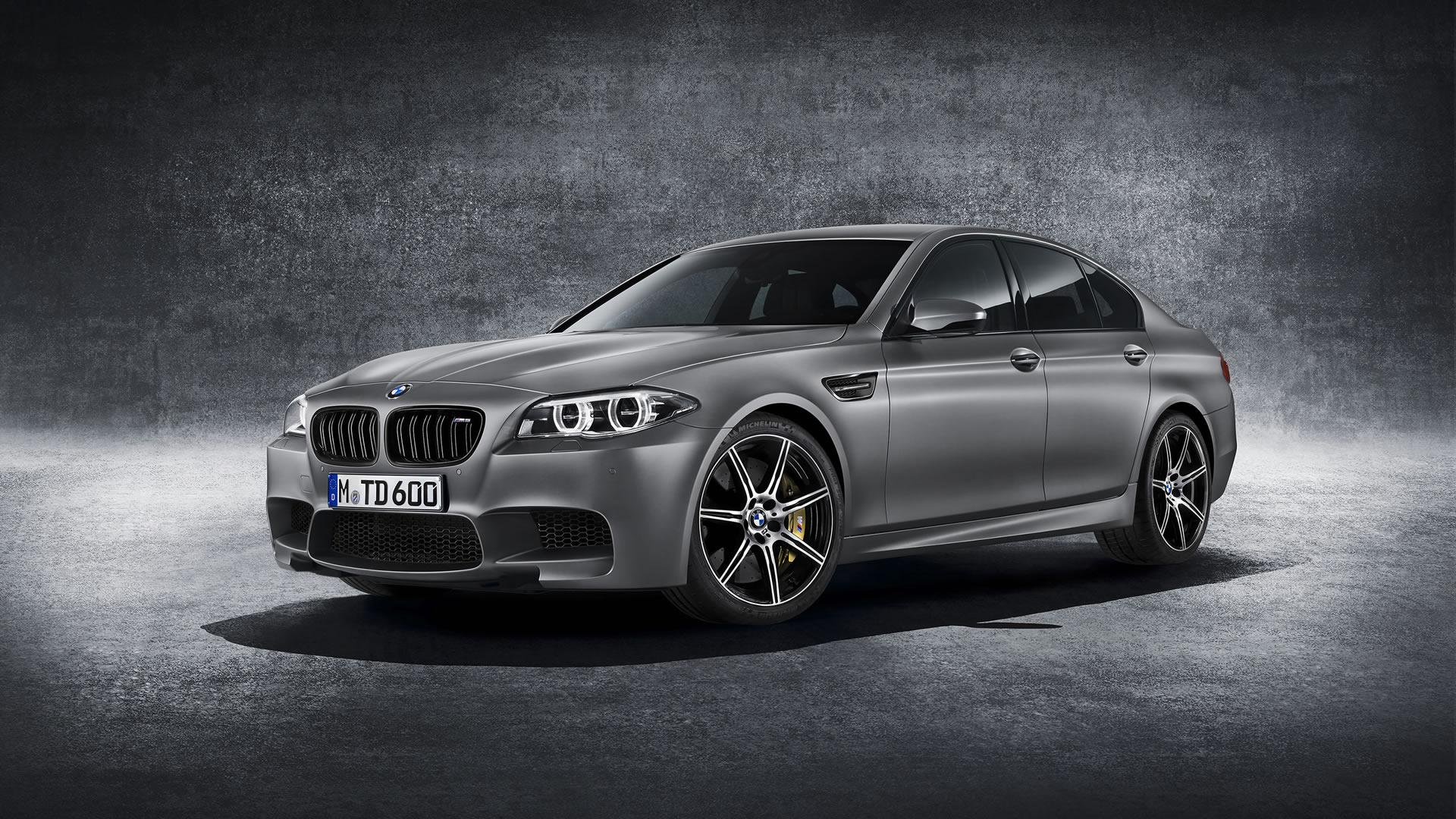 2015 BMW M5 30th Anniversary Edition Wallpaper   1920 x 1080 Frozen 1920x1080