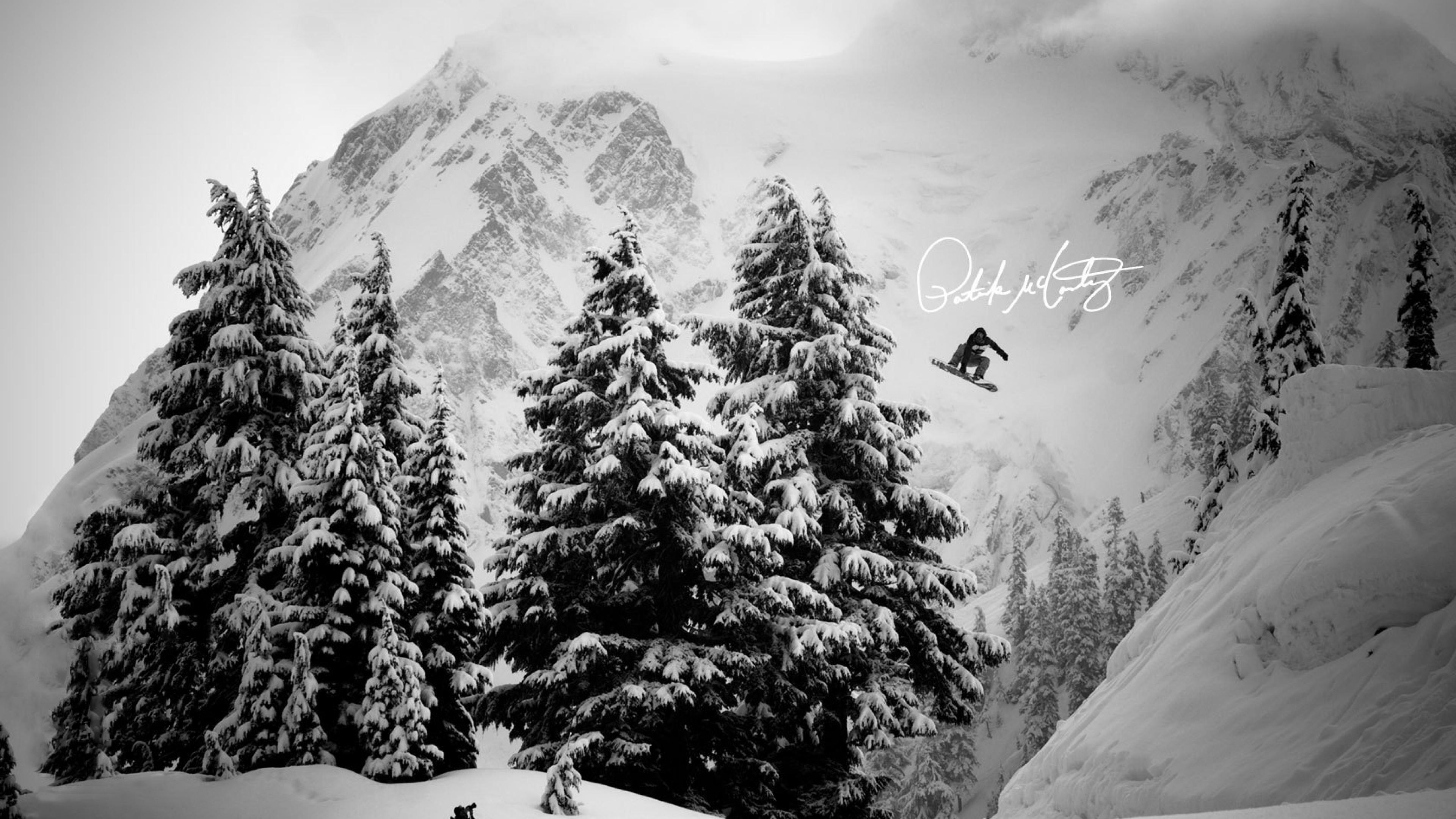 Download Snowboarding Wallpapers 3840x2160