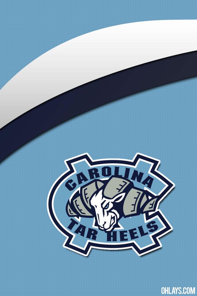 North Carolina Logo Wallpaper North Carolina Tarheels Iphone 640x960