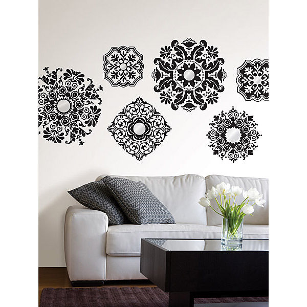 Details about Baroque Removable Wall Decals Sticker Wall Pops 600x600