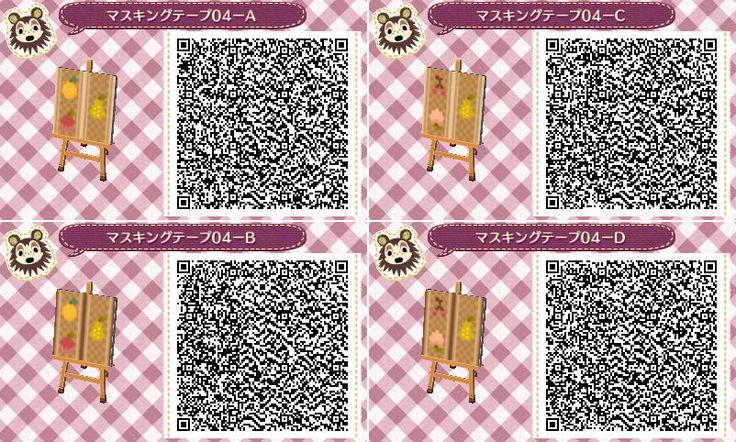Free Download Qr Codes Wallpaper Furniture Pattern Animal Crossing