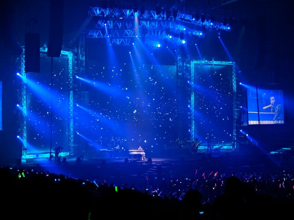 Concert Stage Wallpaper Rock Concert Stage Background 1024x768