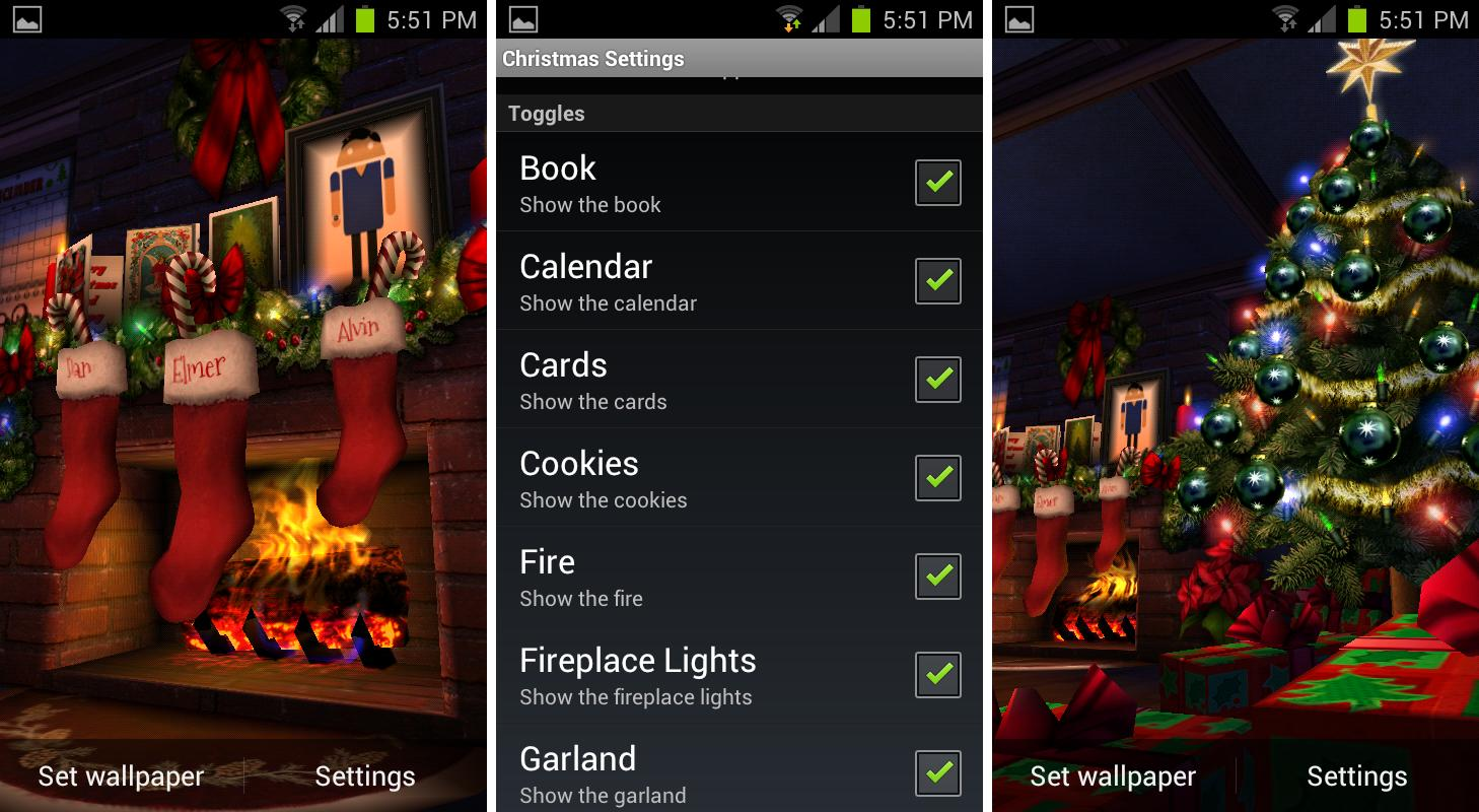 Awesome Christmas Wallpaper For Android Phone Best Christmas
