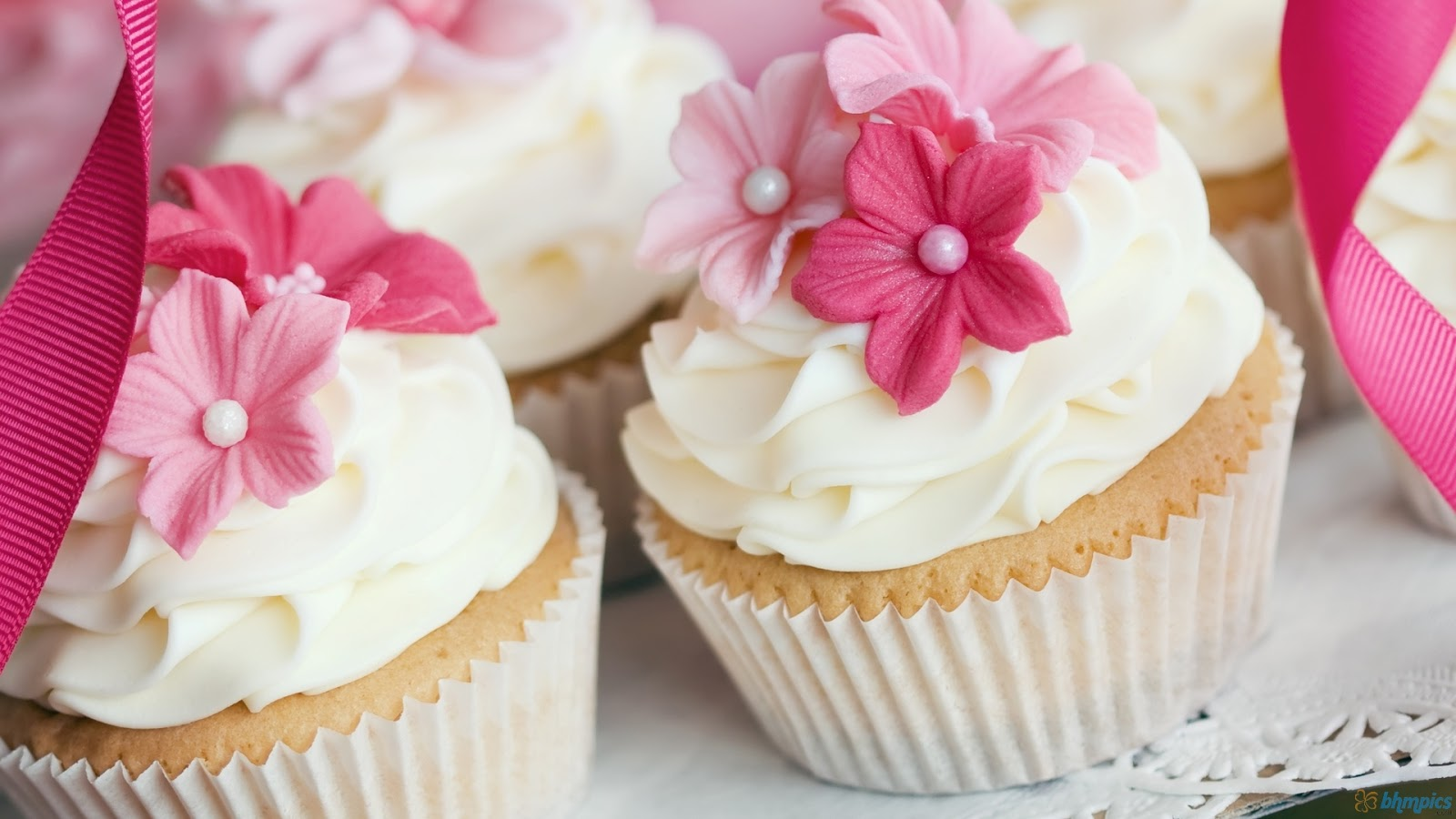 Wedding Pink Cupcakes Wallpaper Wedding Pink Cupcakes Wallpaper 1600x900