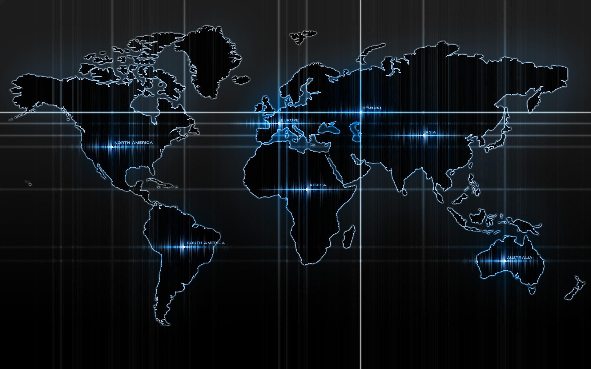 Amazing Word Map Desktop Background Wallpapers Download 1920x1200