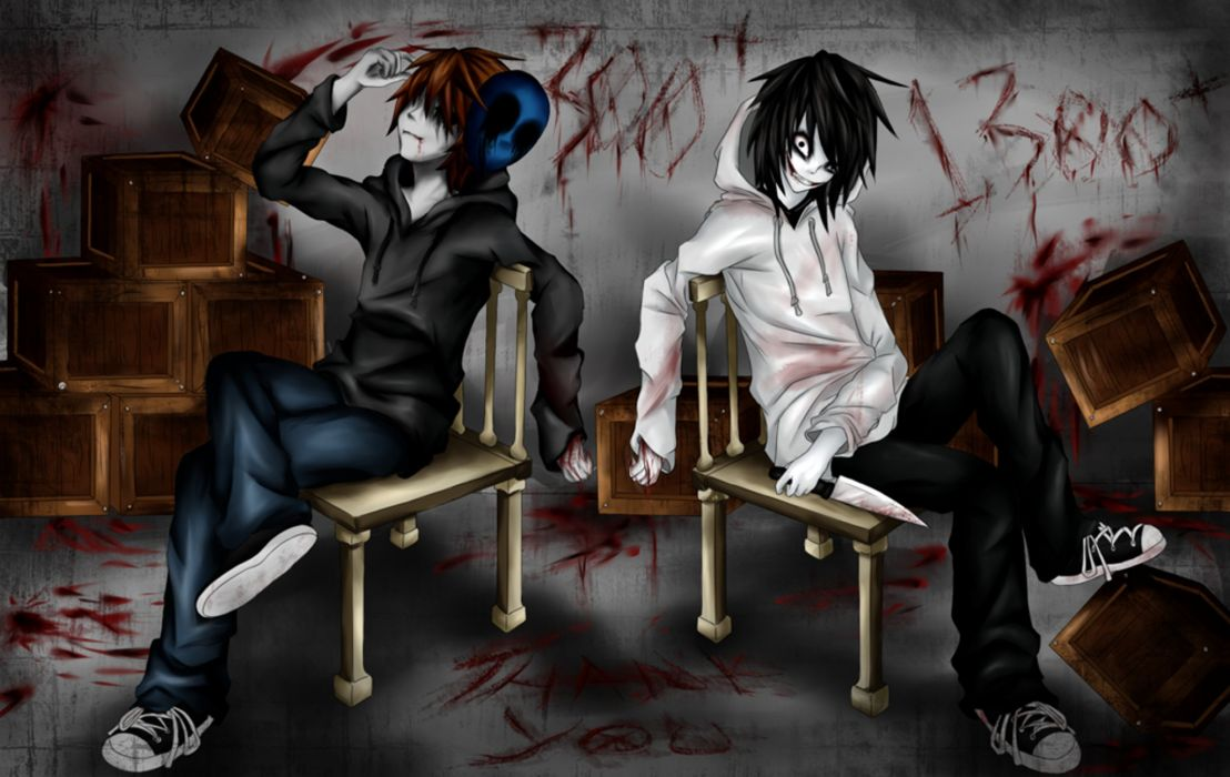 Jeff the killer and Eyeless Jack wallpaper 2048x1294 805668 1108x700