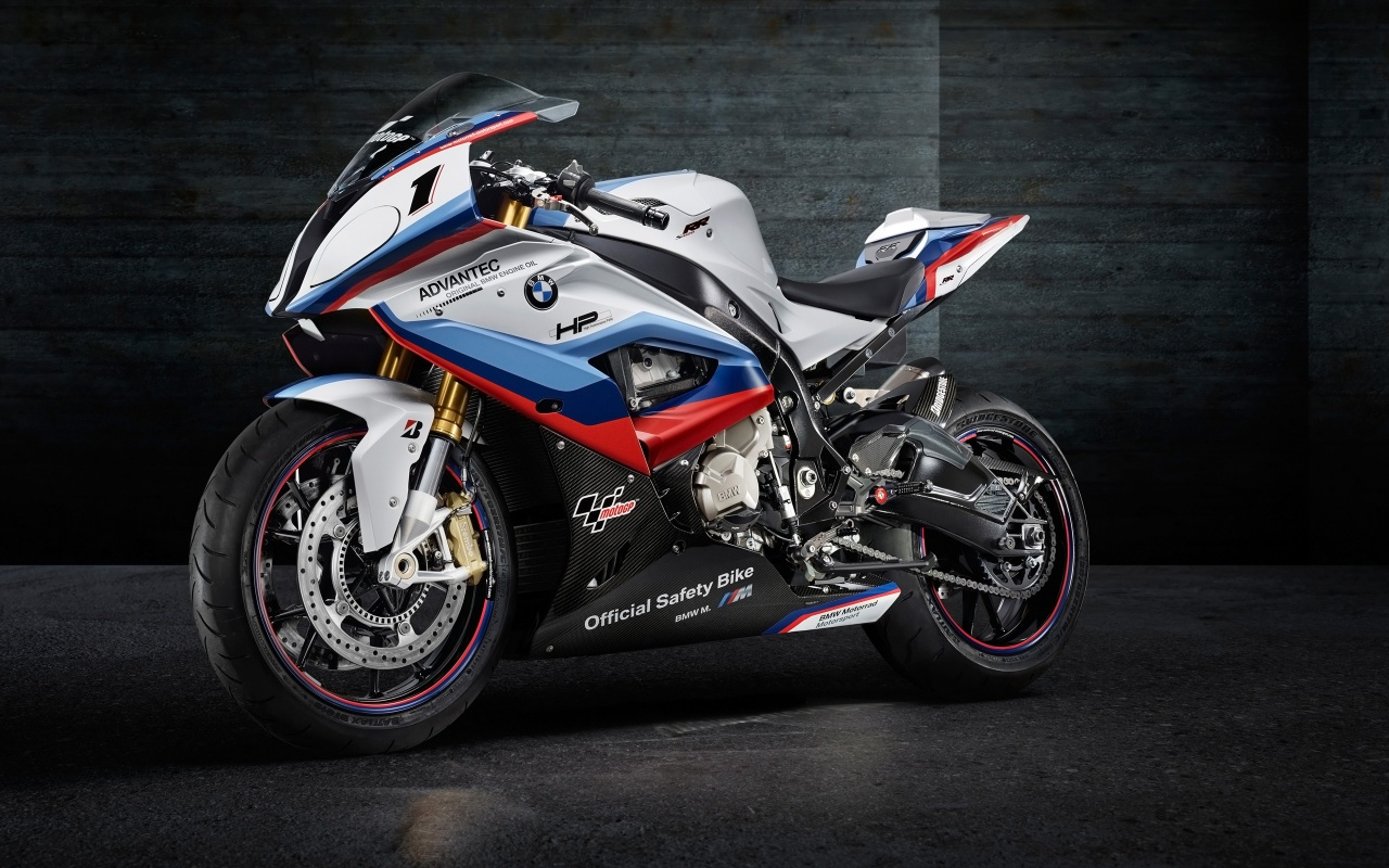 2015 BMW M4 MotoGP Safety Bike Wallpapers HD Wallpapers 1280x800