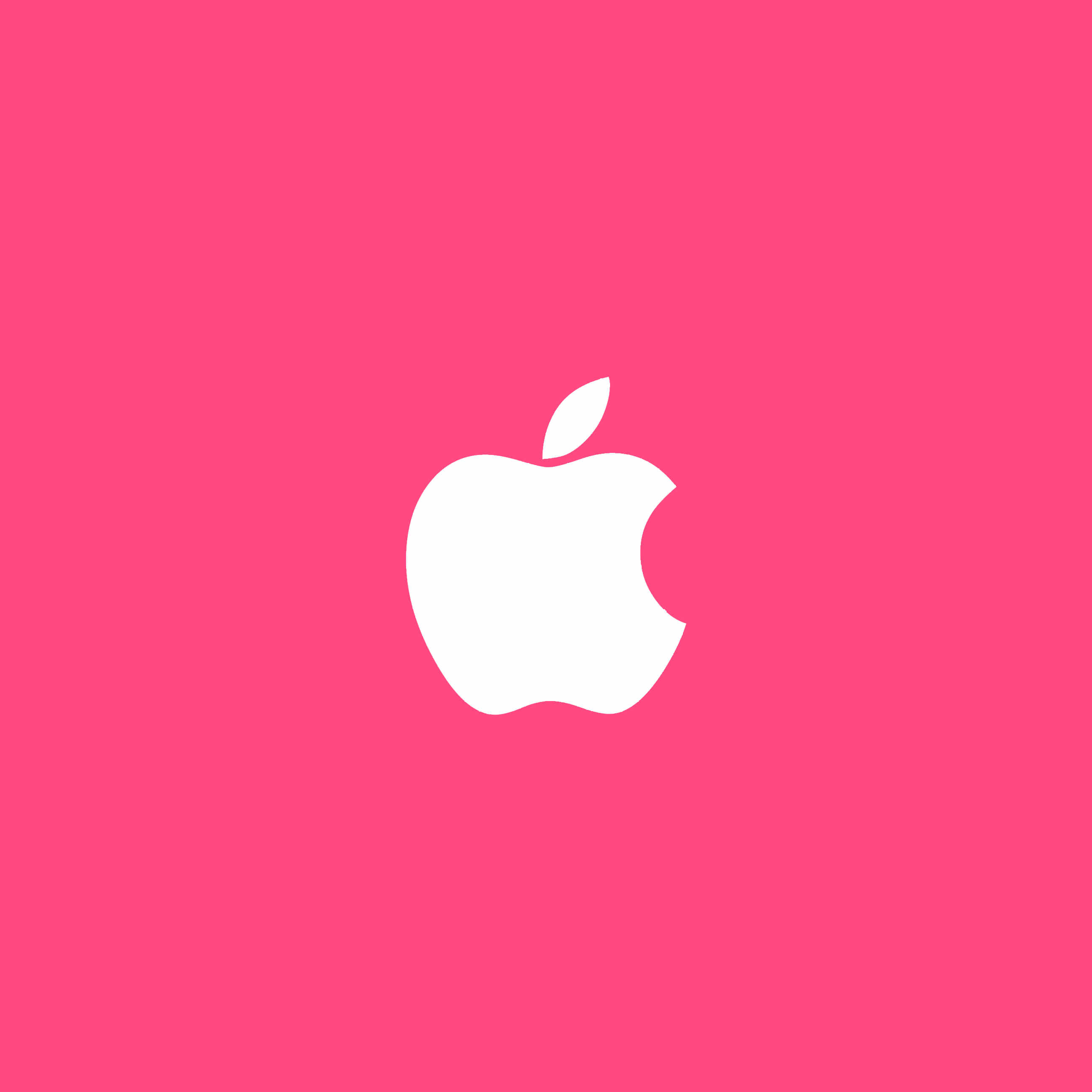 Apple Rogo pink wallpapersc iPhone6Plus 2592x2592