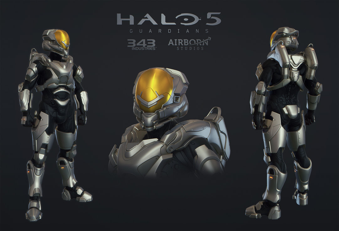 Halo 5 Multiplayer Armor Freebooter by polyphobia3d 1081x738