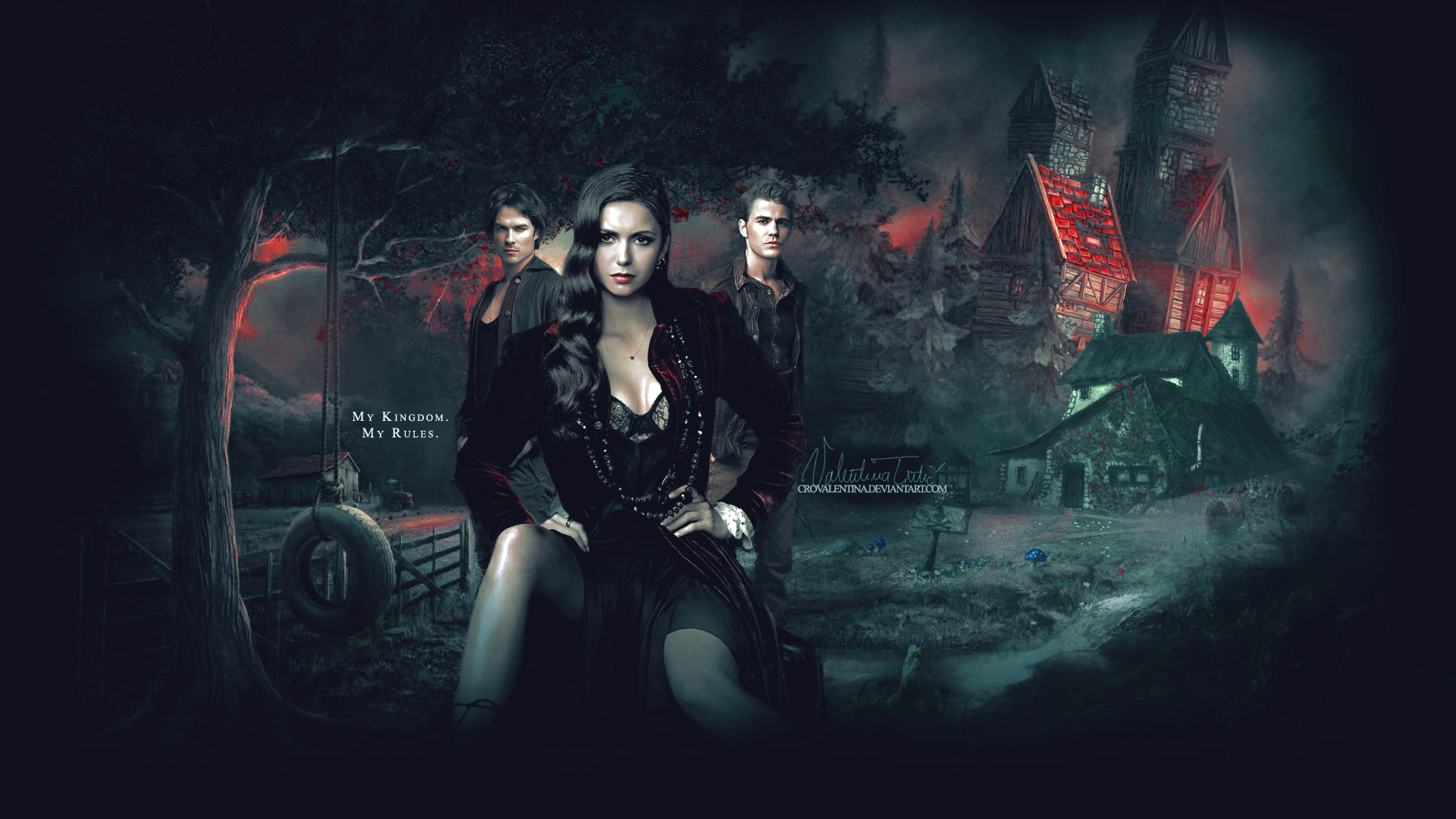 The Vampire Diaries images The Vampire Diaries HD wallpaper and 1920x1080
