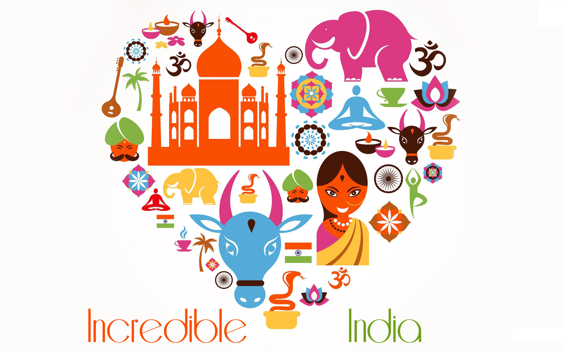 Incredible India [photo credit google images] 1920x1200
