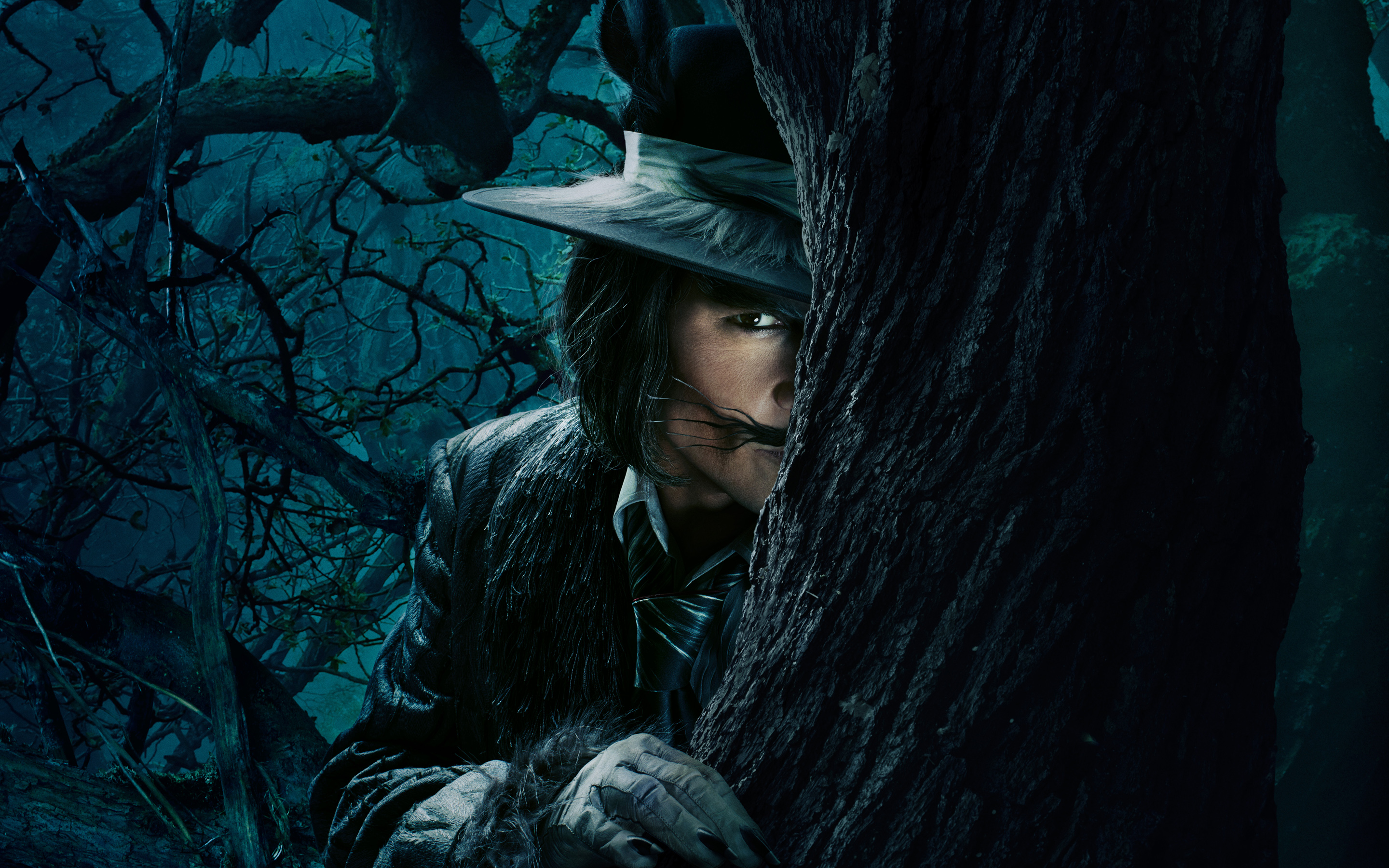 Johnny Depp The Wolf Into The Woods Hd Wallpapers 2880x1800